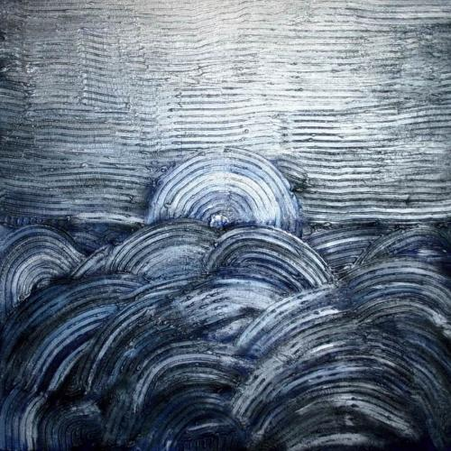 0120 Mond ueber Meer